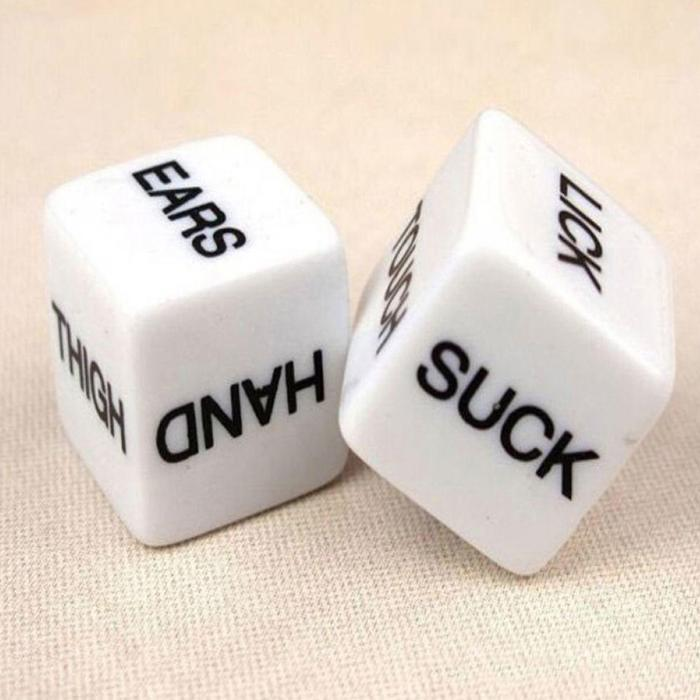 Fun Acrylic Dice Love Dice Sex Dice Erotic Dice Love Game Toy Couple Gift N21