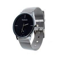 fabulous 1pc hot Elegant Classic simple stylish style Men's Analog Quartz Clock Stainless Steel band Wrist Watch