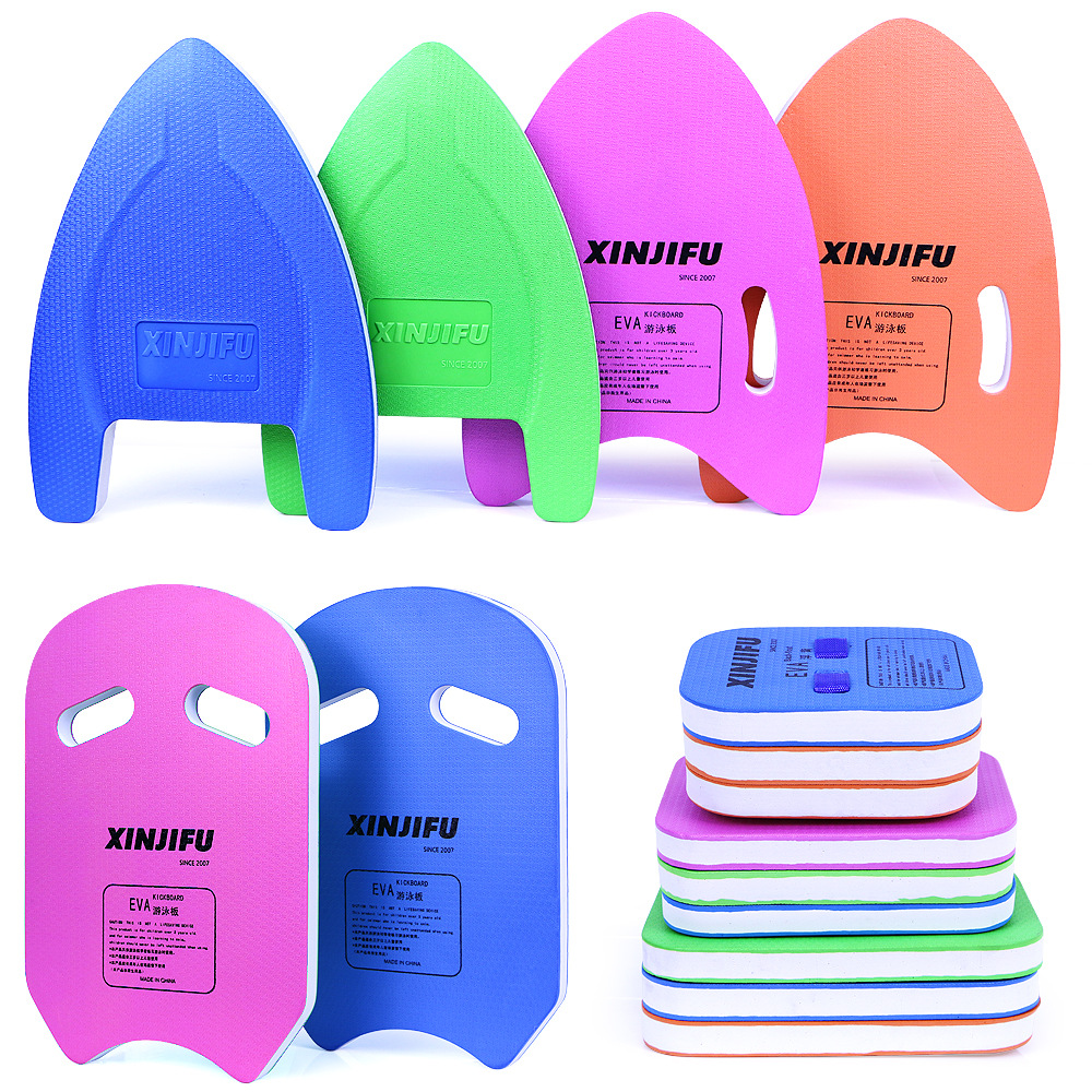 Swimming Pool Accessories EVA Safe Swimming Training Auxiliary Floating Board Adult Children Beginner Water Board Back