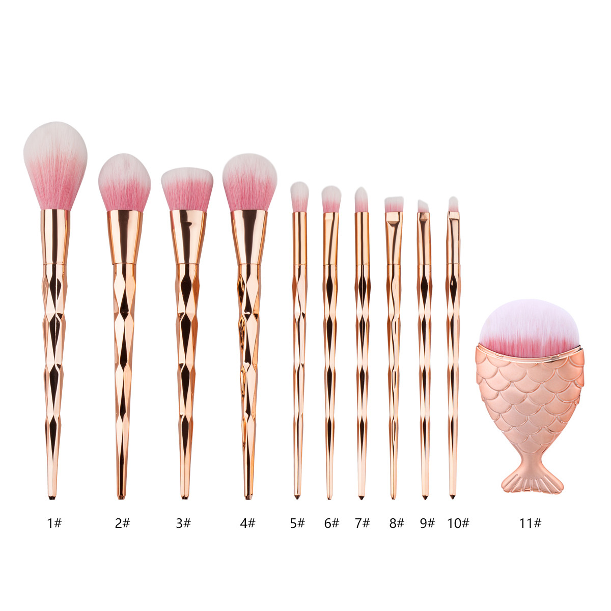 Makeup-Brush-Set Foundation-Brush-Powder Multi-Function 1pcs 50-Pinceis-De-Maquiagem