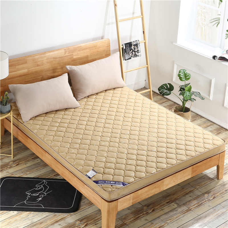 Knitted Memory Foam Mattress High Density Thickening Folding Bed