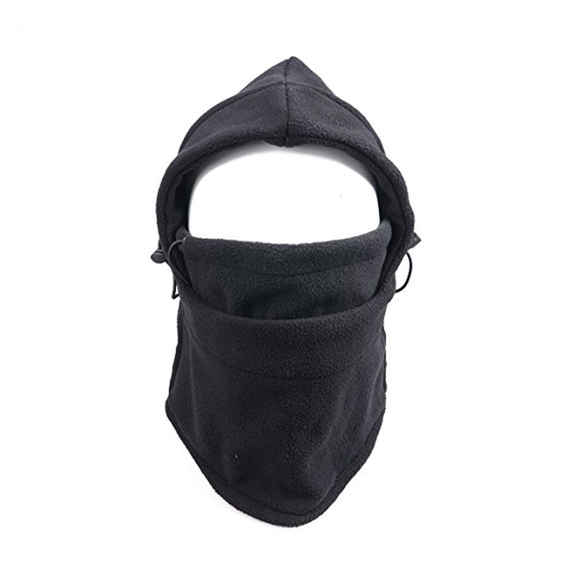 Act4Ring Tactical Fleece Hooded Face Mask Neck Warmer Ski Hood Snowboard Mask Warm Head Scarves Cycling Headgear Wind Protector