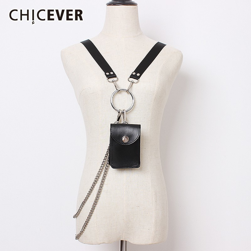 CHICEVER Bag Belt For Women High Waist Vintage Dresses Accessories PU Solid Belts Female Fashion New Tide 2019 Summer