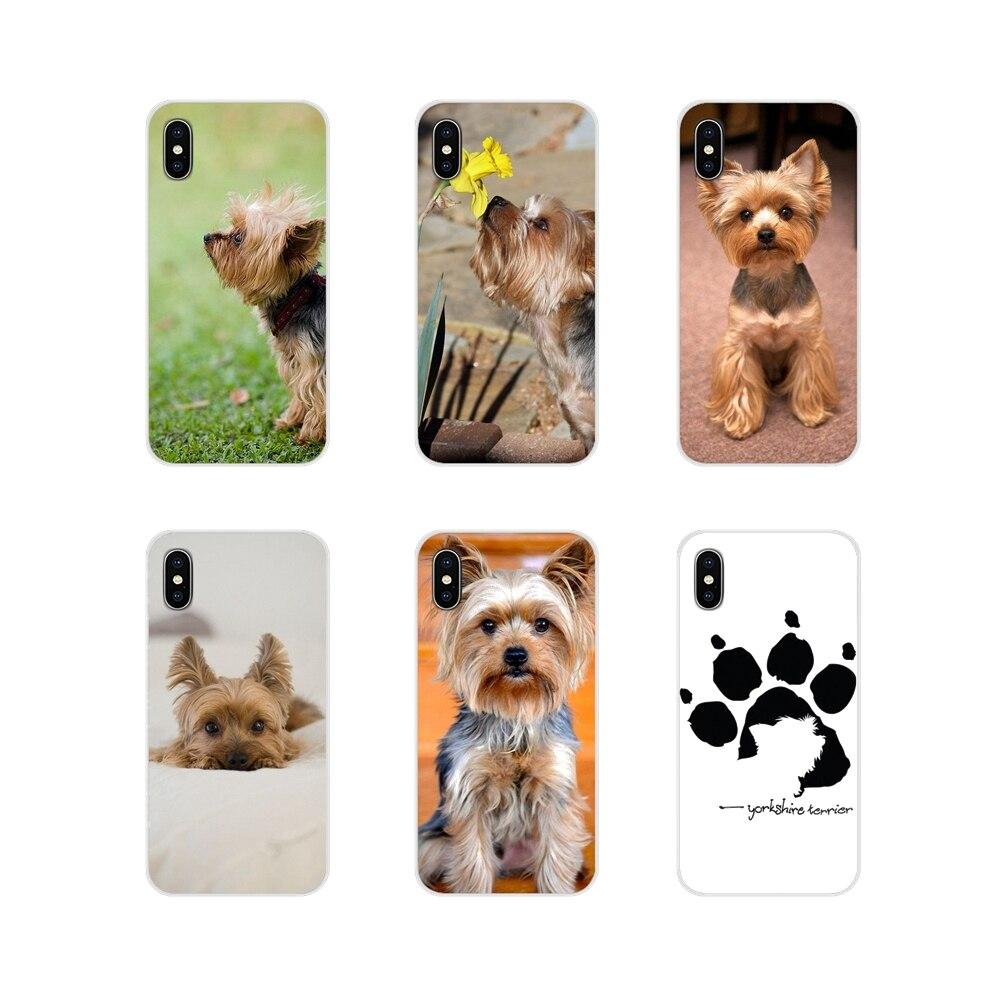 Skin-Case Yorkshire Terrier Xiaomi Redmi Plus Transparent Pocophone F1 Cute 6A For 4A