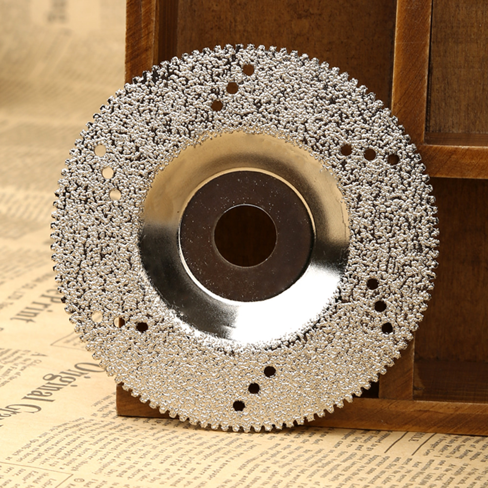 100mm Diamond Grinding Wheel Disc Diamond Cutting Disc Saw Blade For Dremel Rotary Tool Cuttter For Marble Concrete Porcelain