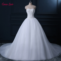Amdml Exquisite Lace Ball Gown Wedding Dresses 2017 Princess Sweetheart Neck Bridal Gown Sheer Voile Skirt