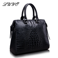 Crocodile Women Bags Designer Genuine Leather Alligator Brand OL Handbags Luxury Cowhide Shoulder Messenger Top Handle