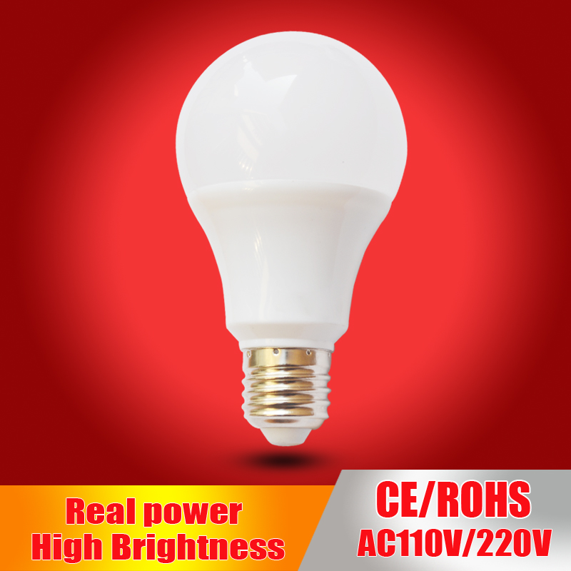 Haotiancheng led bulb E27 Led Lamp B22 220V 230V 240v led Light bulb 3W 5W 7W 9W 12W 15W SMD2835 lampadas led candle light
