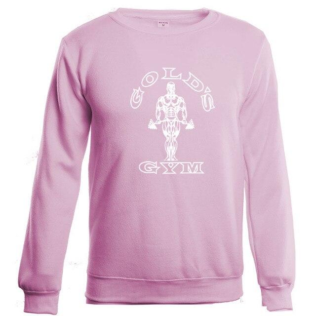 2016 New gymshark Sportswear golds gyms Sweatshirts Winter long-sleeved cotton velvet GASP men clothing