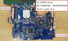 Бесплатная доставка для VPC EE VPCEE VPCEE3Z0E VPCEE2S1E PCG-61511M DANE7MB16D0 A1892312A Материнская плата ноутбука