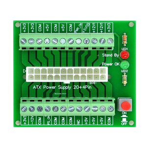 24/20-pin ATX DC Power Supply Breakout Board Module 24Pin ATX to terminal block(China)