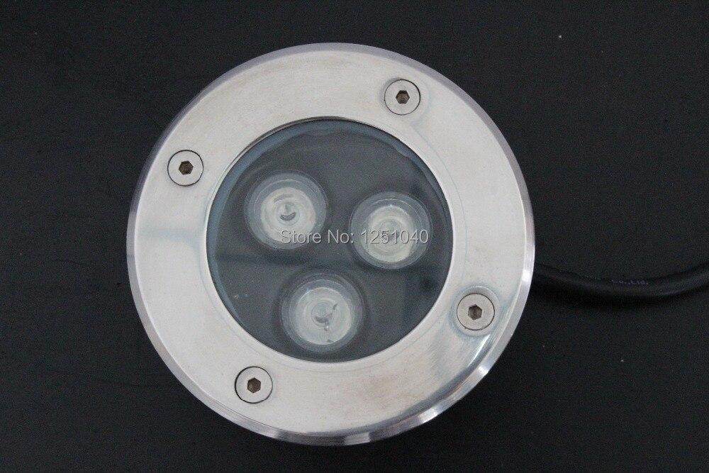 Прямые продажи 3 Вт лампа подземных AC85-265V встраиваемый лестница света IP65 открытый пейзаж светильник ce rohs светодиодные огни палубе