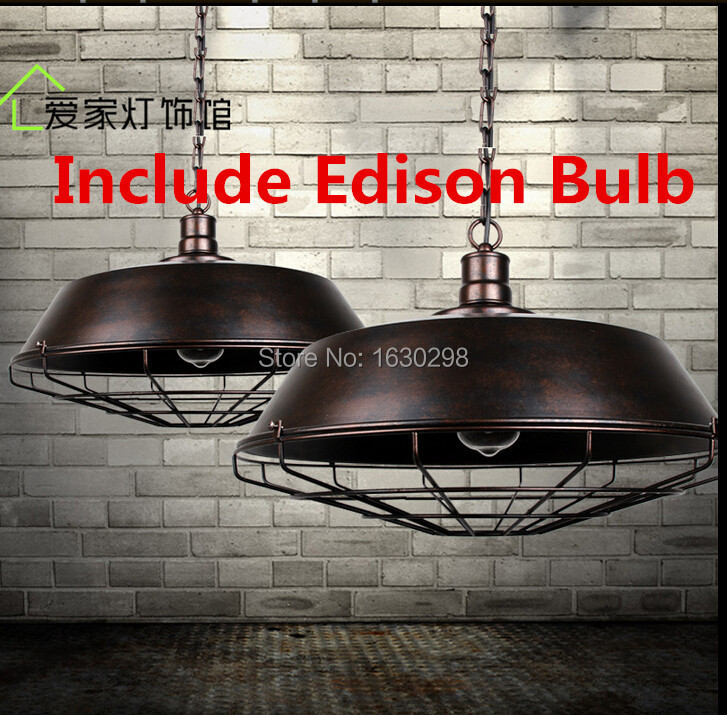 Aliexpress.com : Buy American Country Creative Loft Pendant Lights ...