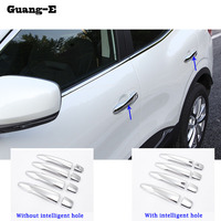 High Quality Front Fog Light Lamp Detector Frame Stick Styling ABS Chrome Cover Trim Accessories Fit