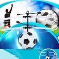 Горячие продажи игрушечный вертолет Футбол Летающие игрушки инфракрасный Индукционная Helicoptero Плавающей НЛО Номера для Дистанционного Управления quadcopter Дроны