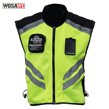 Riding Tribe Reflective Waistcoat Clothing Motorcycle Vest Motocross Off-Road Racing Vest Moto Touring Night Riding vest riding tribe motorcycle jacket racing jaqueta clothing motocross off road riding coat summer breathable mesh quick dry jackets