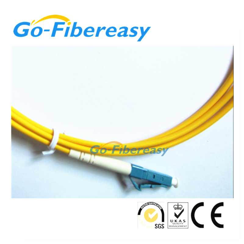 5pcs/lot 5meters Fiber Optic Patch Cord E2000/APC-LC/UPC Single mode Simplex cable 3.0mm