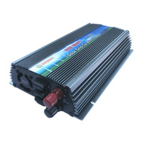 800 Вт солнечных на сетке инвертор DC10.5 28 В к AC110V/220 В Чистая синусоида Солнечной Сетка Tie Micro инвертор