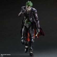 Play Arts KAI batman arkham początki nr 4 Joker PVC figurka-model kolekcjonerski zabawka 26cm KT3932 tanie tanio Anitoy Unisex Film i telewizja Wyroby gotowe Zachodnia animiation Żołnierz gotowy produkt 25 cm 5-7 lat 8-11 lat 12-15 lat