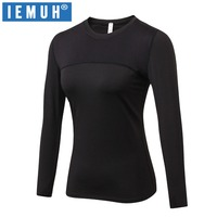 IEMUH Brand Thermal Underwear Women Winter Quick Dry Anti Microbial Stretch Thermo Underwear Female Warm Long
