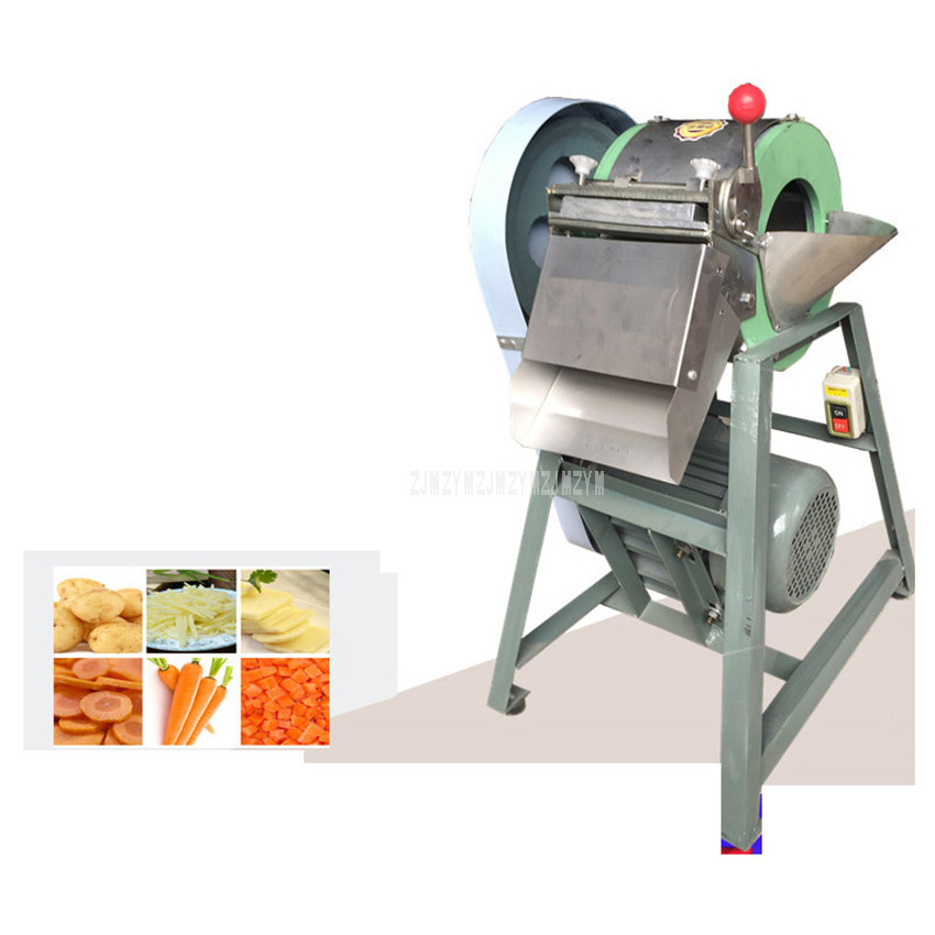Multifunctional Commercial Restaurant Vegetable Cutter Mincer Potato Slicer Onions Cabbage Slicing Machine Potato Chipper Dicer