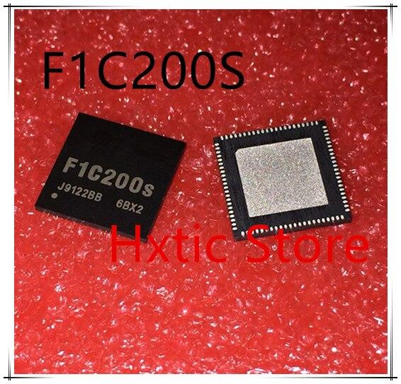 Tüketici Elektroniği'ten Pil Aksesuarları ve Şarj Aksesuarları'de 1 adet/grup F1C200S F1C200 QFN ORIJINAL