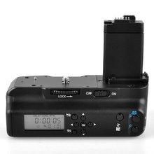 Майке mk-550dl ЖК-дисплей таймер Батарейная ручка для Canon EOS 550D 600D 650D 700D/Rebel T2i T3i T4i T5i цифровой зеркальной камера