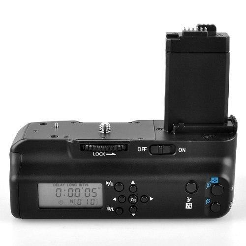 Meike MK-550DL LCD minuterie batterie prise pour Canon EOS 550D 600D 650D 700D/rebelle T2i T3i T4i T5i appareil photo reflex numérique
