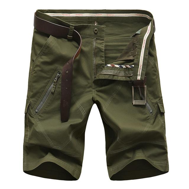 fashion cotton mans short plus size 42 44 Without Belt