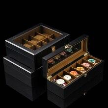 Европейский стиль, коробка для хранения часов, чехол, дерево, черный, механический, для часов, органайзер, новинка, для женщин, подарочный футляр для украшений, держатель