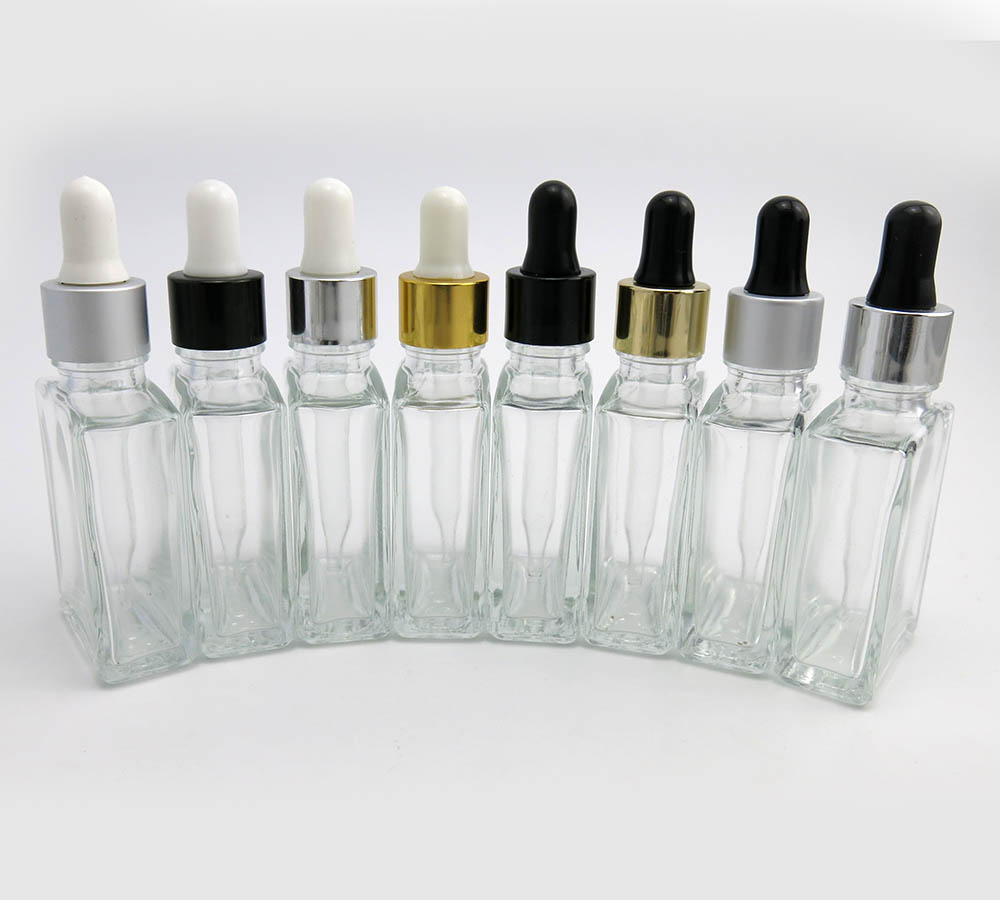 30ml prazne prozirne staklene boce kapaljke za oči aromaterapija - Alat za njegu kože - Foto 4