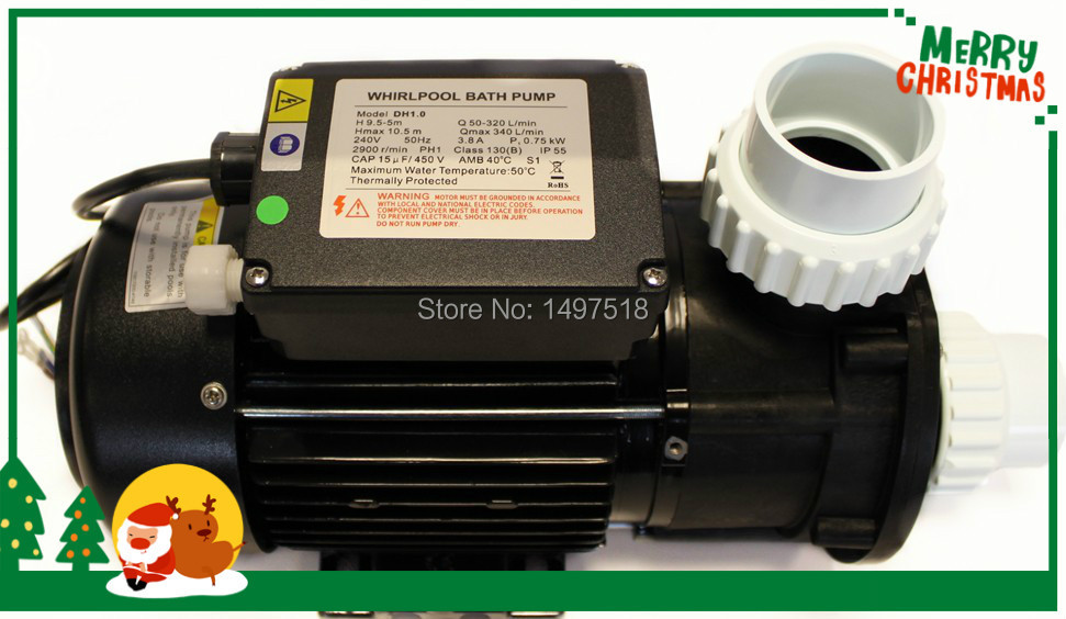 Online Shop DH1 Whirlpool 1HP Hot Tub Pump Chinese Jacuzzi Whirlpool ...