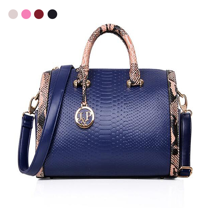 New Fashion Handbags Crossbody Leather Bag Boston Pillow Irregular Handbags Women Shoulder Black/Red/Blue Bags Famous Brand