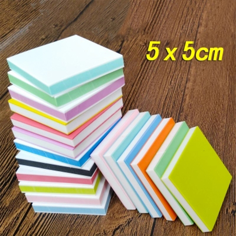 5*5cm Square Engraving Eraser Stamp For DIY 10 Pcs/lot Colorful 3 Layers Good Quality School & Office Supplies