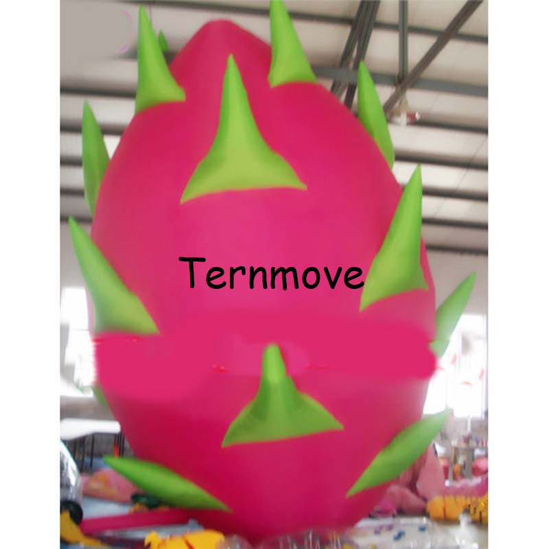 giant inflatable Pitaya,inflatable fruit,inflatable Dragon fruit customized inflatable fruit replica for advertising ac028 factory price giant inflatable advertising new customized replica product