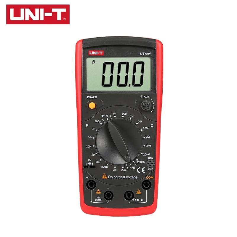 UNI-T UT601 Inductance Capacitance Meters Resistance Capacitance Tester Ohmmeters Capacitance Inductance Meter
