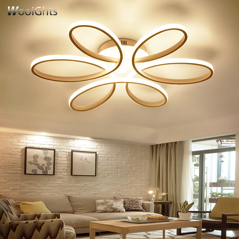 Wooights Modern LED ceiling lights for living room bedroom Lamp modern led ceiling lamp dimming home lighting Lustre luminarias