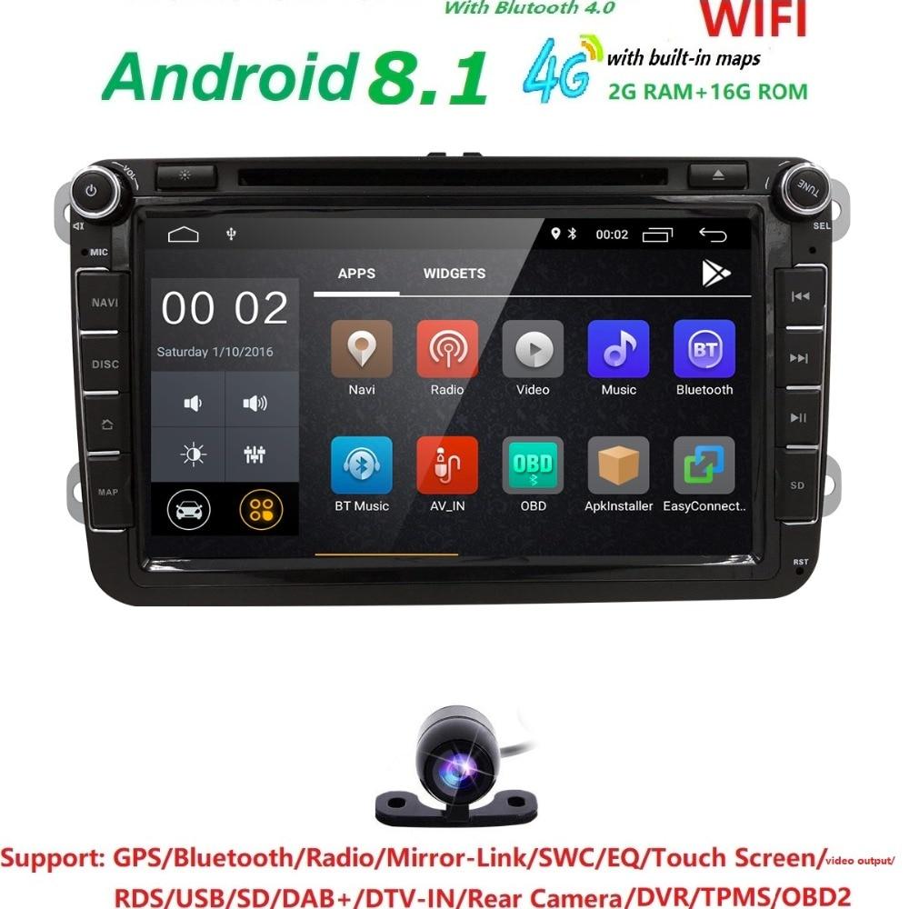 8 '' RAM 2G DVD del coche para Volkswagen / V W golf 4 golf 5 6 - Electrónica del Automóvil