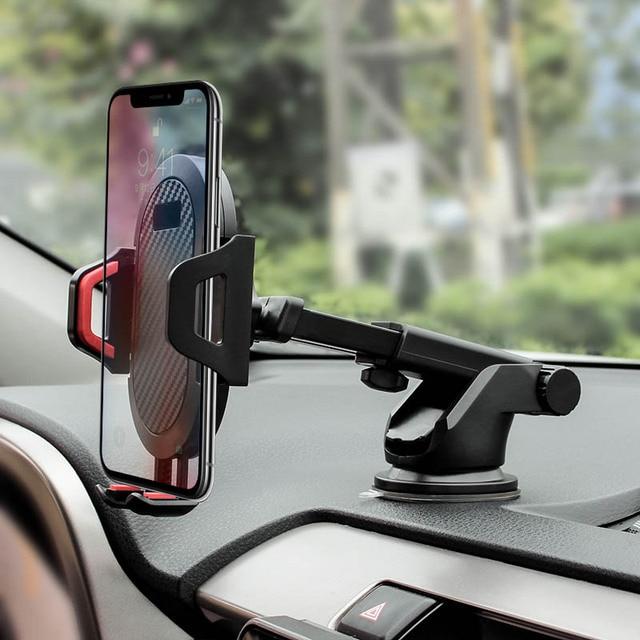 Arivn لوحة القيادة الزجاج الأمامي الجاذبية مصاصة حامل هاتف السيارة آيفون X حامل للهاتف في سيارة المحمول دعم حامل هاتف ذكي