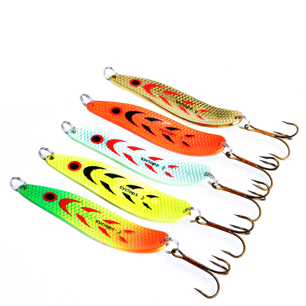 Mepps Fishing Lure 5pcs/lot Wobbler 18g Peche Spoon Bait Fishing Tackle China Winter Artificial Hard Fake Fish Metal Lures Set 4pcs fishing wobblers lures spinners metal spoon bait wobbler lure artificial bass baits peche tackle kit carp spinnerbait 5cm