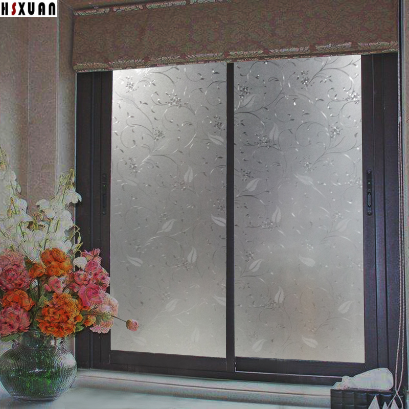No pegamento electrostático ventana película 40x100 cm decoración de la cocina Grease proofing impermeable decorativo etiqueta engomada de Windows 400210