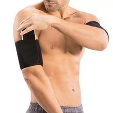 Мужчины Body Shapers Arms Рукава неопрена для похудения Сауна Пот 1 Пара Фитнес Новый Тонкий