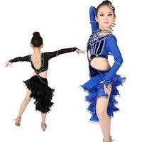 새로운 여자 어린이 라틴어 댄스