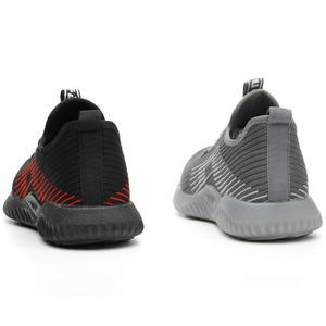 Image 3 - JACKSHIBO мужские рабочие ботинки, дышащие, со стальным носком
