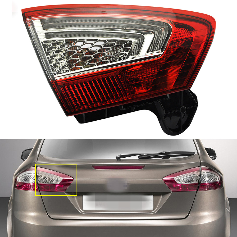 1Pcs Left Side Inner Rear Tail Light Lamp BS71-13A603-AC for Ford Mondeo Fusion 2011-2012 new 12pcs 7 5cm 5 6g fishing lure minnow hard bait sea fishing tackle crankbait fishing kit jig wobbler lures bait with hooks
