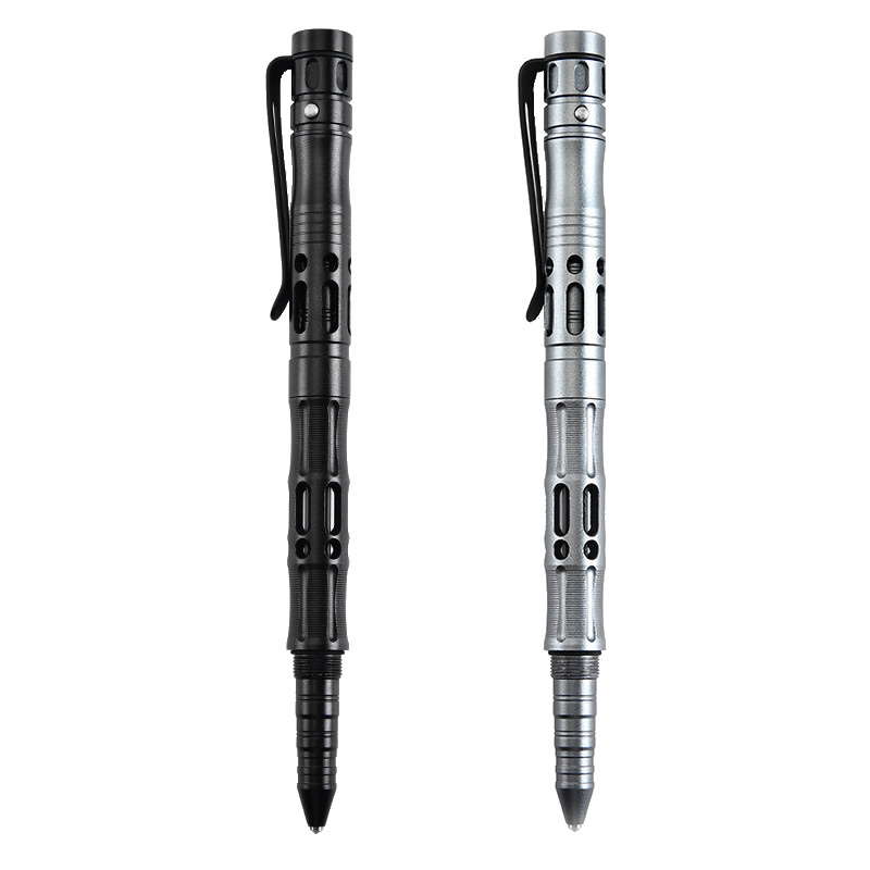 Multi-Function Self Defense Tactical Pen Emergency Flashlight Glass Breaker Outdoor Survival Tool For Men/Women Christmas Gift