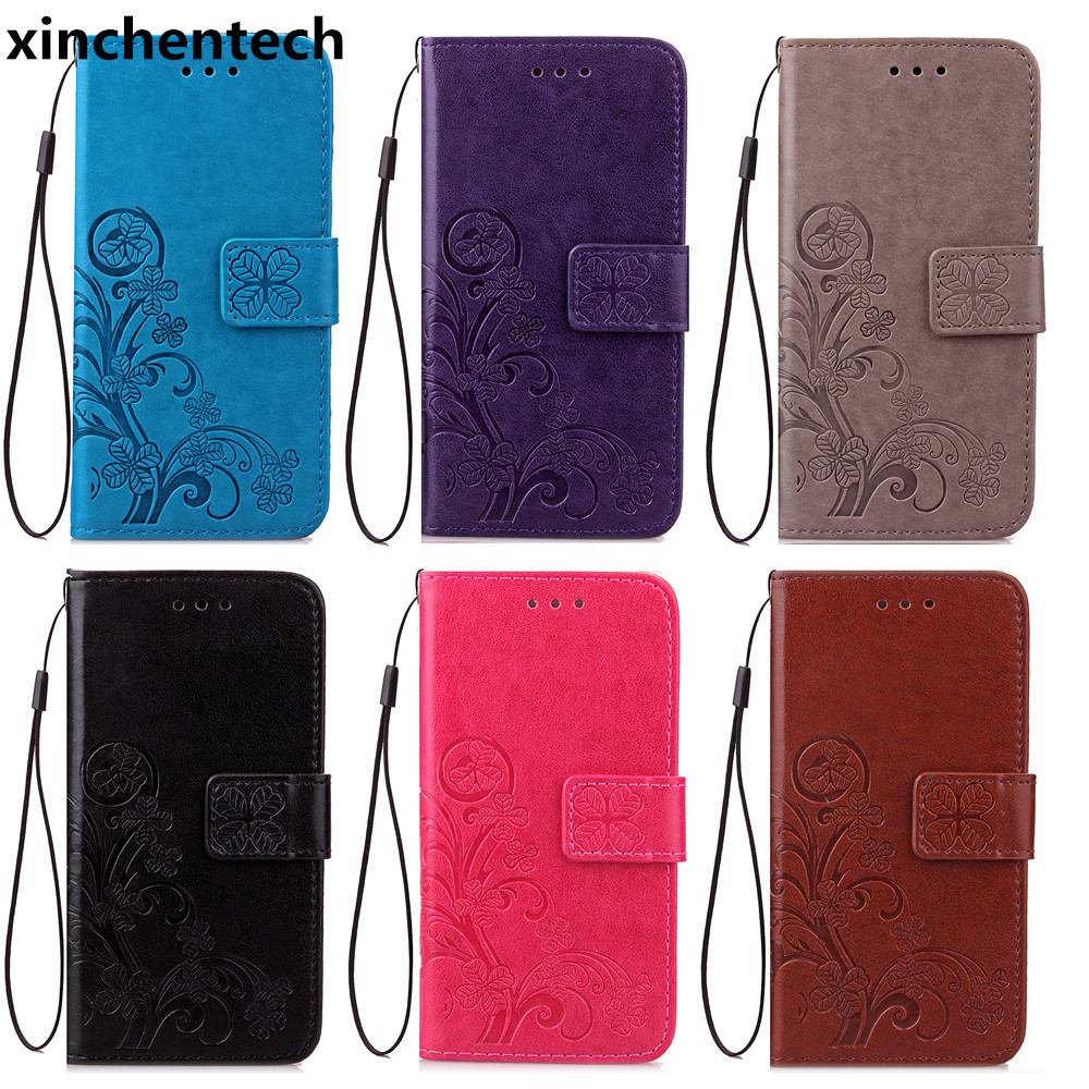 Xinchentech For Xiaomi Redmi 4/Redmi 4 Pro <font><b>Case</b></font> Luxury Leather <font><b>Phone</b></font> Bag Accessory <font><b>Lanyard</b></font> Flip Cover For Redmi4 Prime 5.0inch