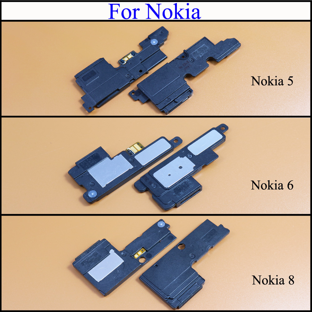 YuXi New Loudspeaker For Nokia 5 6 8 Loud Rear Speaker Buzzer Ringer With Flex Cable Replacement Parts