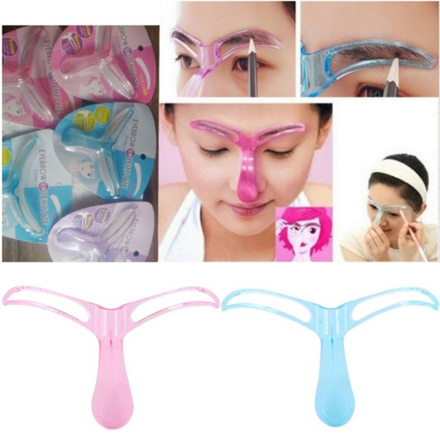 Eyebrow Stencils Professional Beauty Tool 3