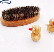 Bristle Shaving Brush Beard Brush For Men Bamboo With Boar Bristles Massage that Works Wonders To Beards and Mustache